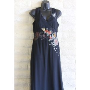 Adrianna Papell Dresses - Adrianna Papell | formal embroidered flower dress